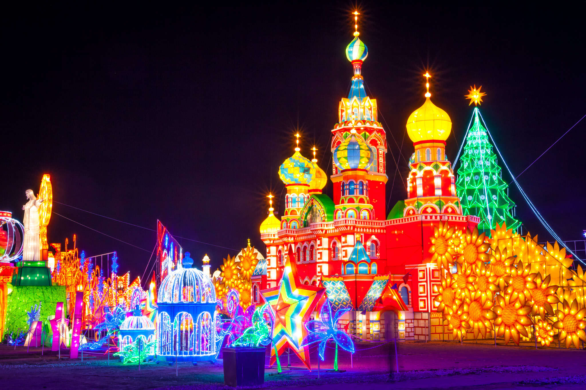 Charming Houston Holiday Lights: Magical Winter Lights U0026 Lantern Festival Amazing Pictures